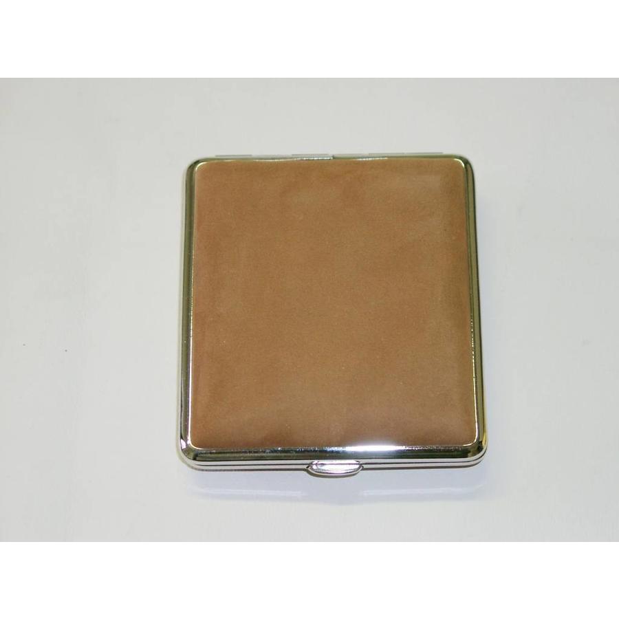 Cigarette Case Leather Brown