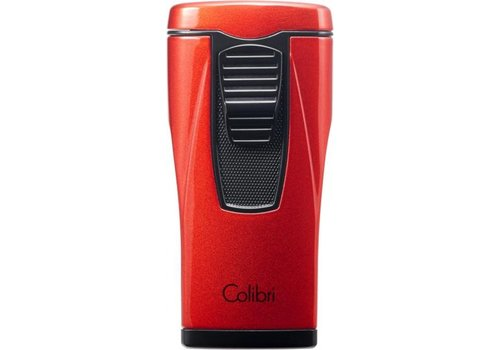 Lighter Colibri Monaco II Metallic Red