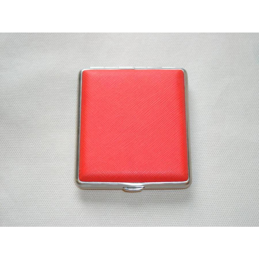 Cigarette Case Skai Orange