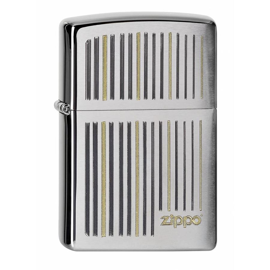 Lighter Zippo Logo and Lines