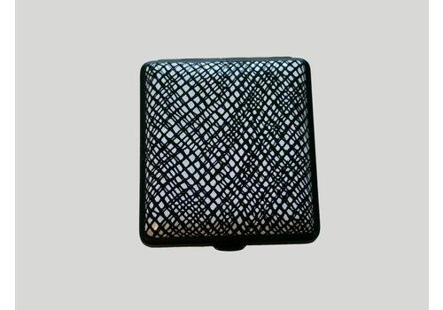 Cigarette Case Leather Coda Nero