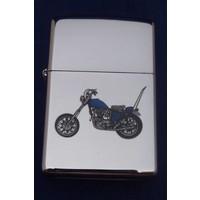 Lighter Zippo Motorcycle Shopper