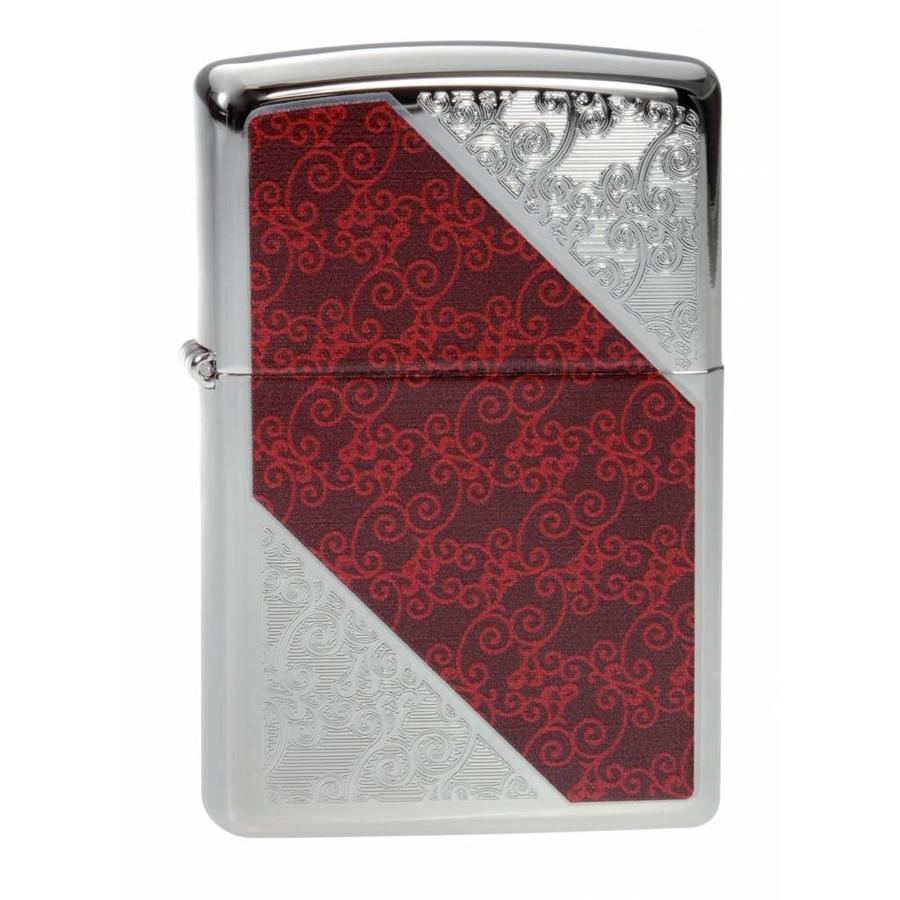 Lighter Zippo Flower Design