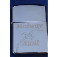 Lighter Zippo Midway Atoll