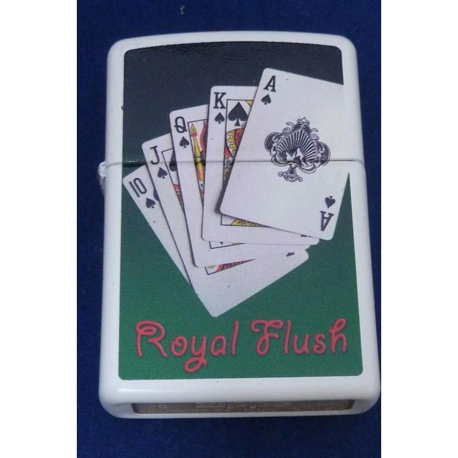 Aansteker Zippo Royal Flush