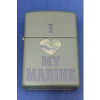 Aansteker Zippo I Love My Marine
