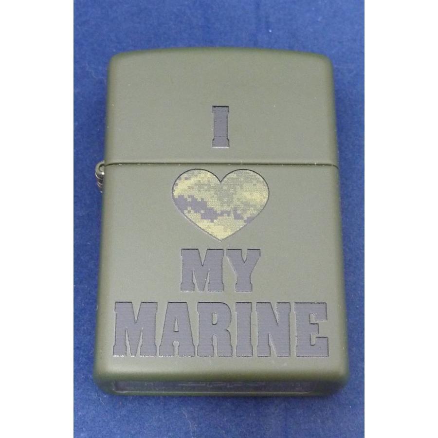Lighter Zippo I Love My Marine