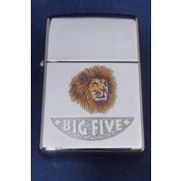 Aansteker Zippo Big Five Lion