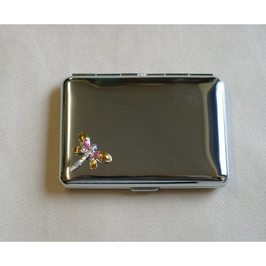 Cigarette Case Chrome Libelle Small