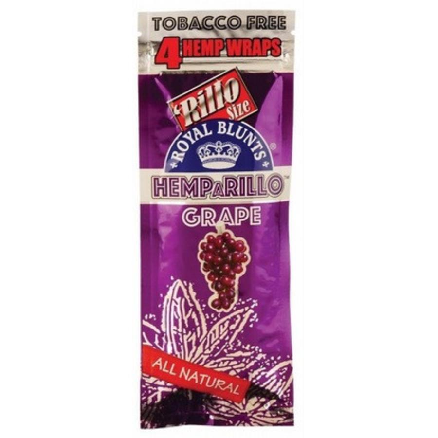 Hemparillo  Royal Blunts Hemp Wraps Grape