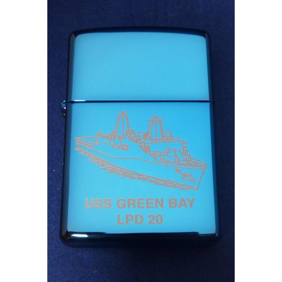 Aansteker Zippo USS Green Bay LPD 20