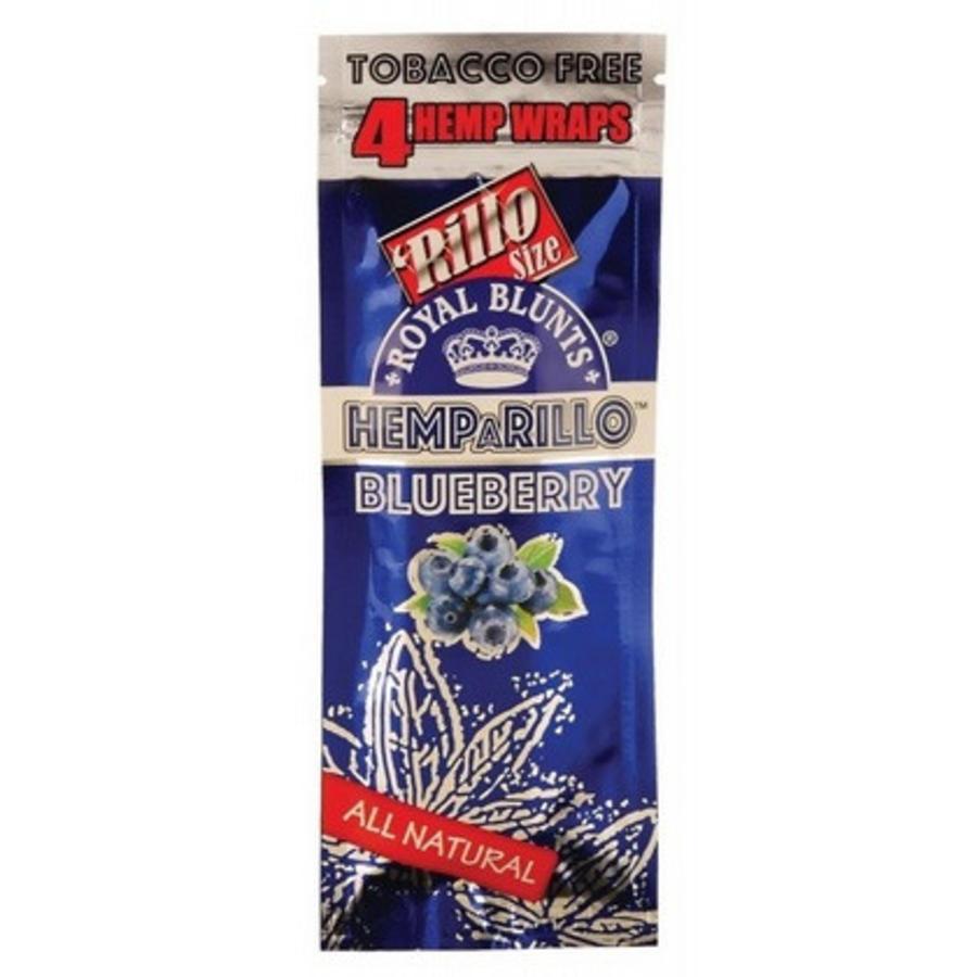 Hemparillo Hemp Wraps Blueberry