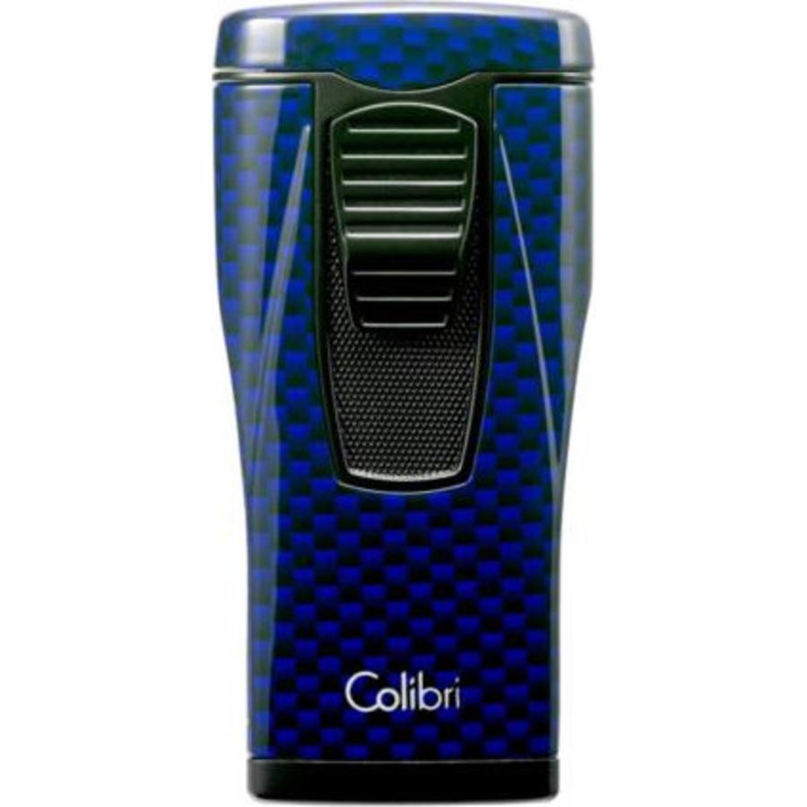 Lighter Colibri Monaco II Carbon Design Blue