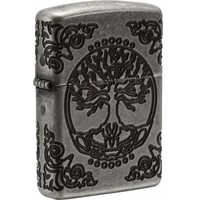 Lighter Zippo Armor Case Tree of Life