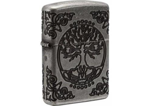 Lighter Zippo Armor Case Tree of Life