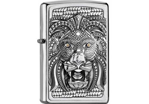Lighter Zippo Art Lion Emblem