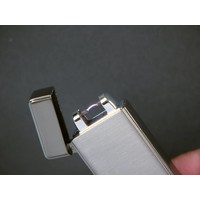 Aansteker Jean Claude Arc Lighter Lyra Chrome Satin
