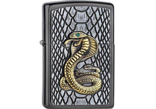 Lighter Zippo Golden Cobra Emblem
