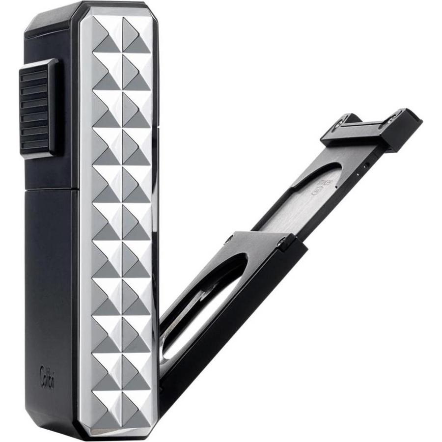 Aansteker Colibri Quasar Astoria Black Chrome