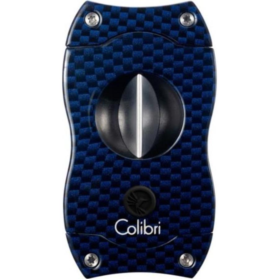 Cigar Cutter Colibri V-Cut Blue Carbon