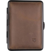 Cigarette Case Soft Leather Brown Small