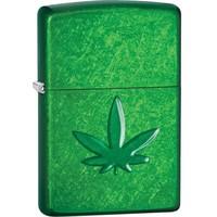 Aansteker Zippo Meadow Stamped Cannabis