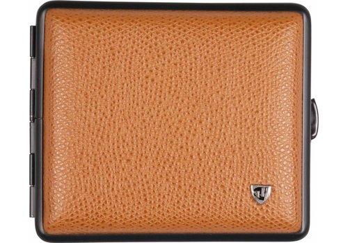 Cigarette Case Soft Leather Cognac
