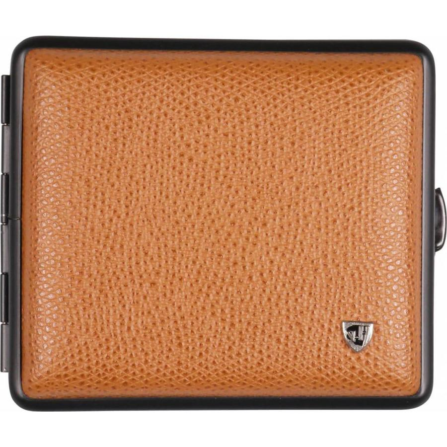 Cigarette Case Soft Leather Cognac