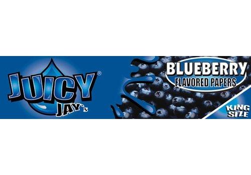 Juicy Jay's Blueberry Kingsize Slim Vloei