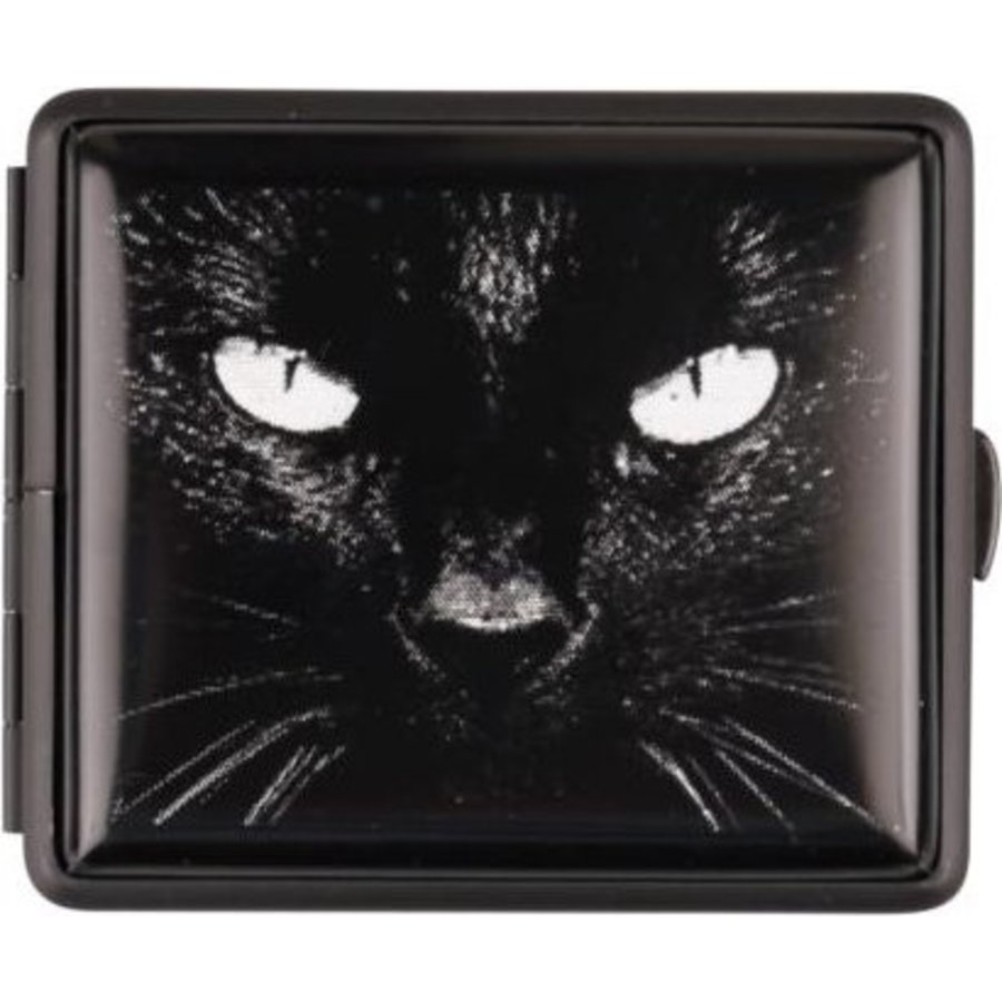 Cigarette Case Black Cat