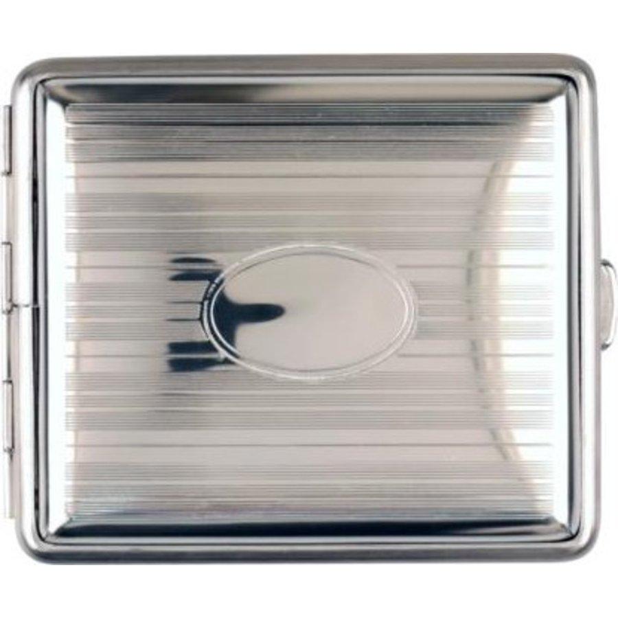 Sigarettenkoker Metal Chrome Stripes