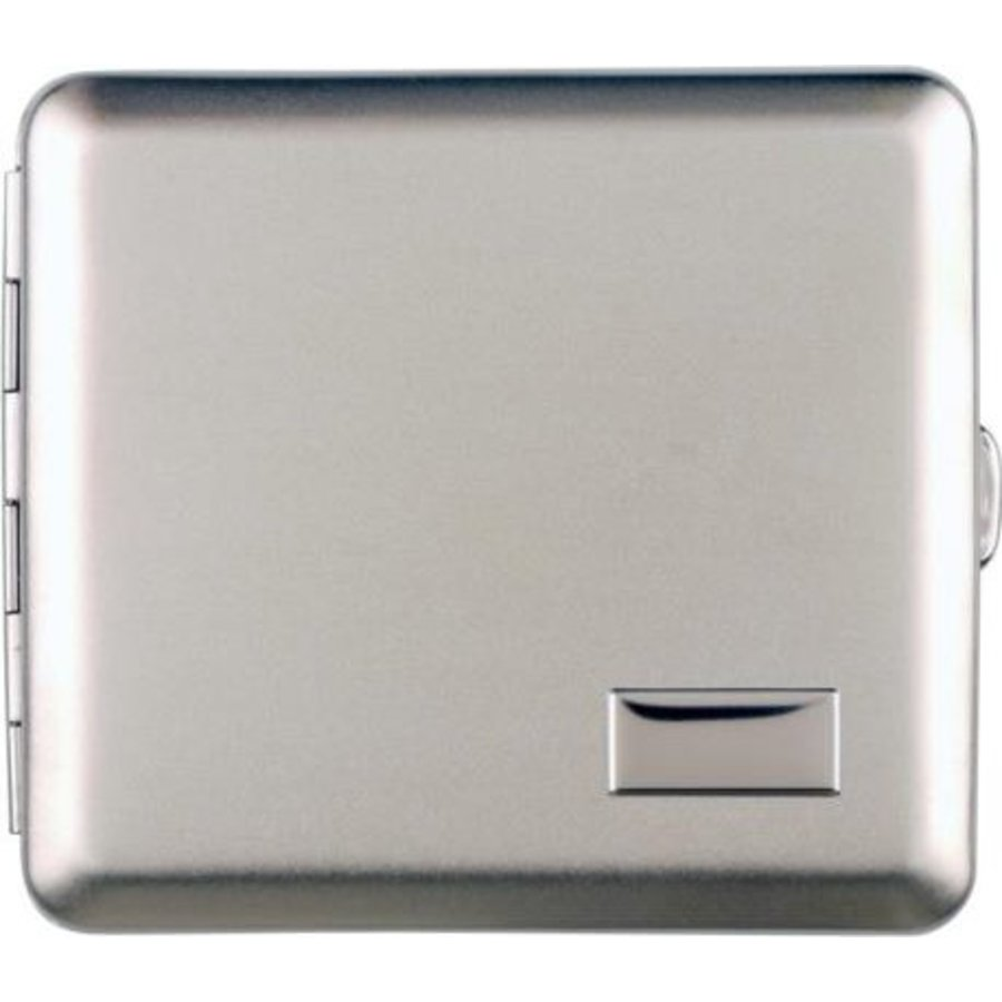 Cigarette Case Satin Chrome