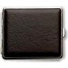 vom Hofe Cigarette Case Artificial Leather Black