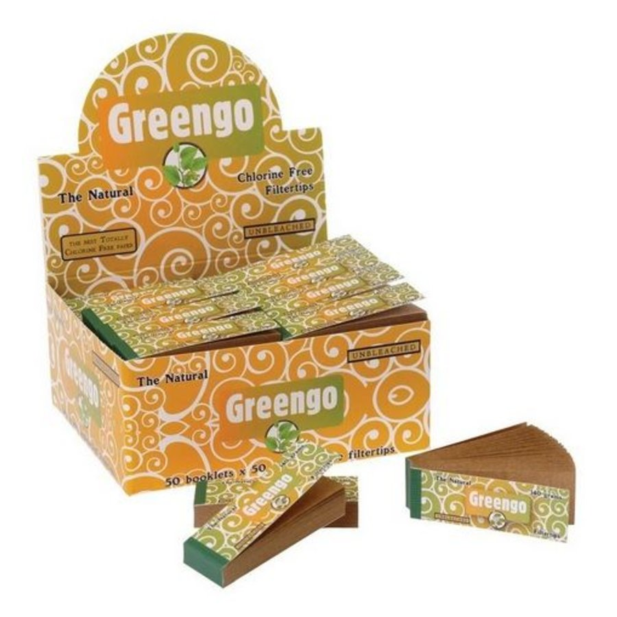 Greengo Filter Tips Box