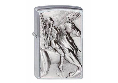 Lighter Zippo Pegasus Amazone Emblem