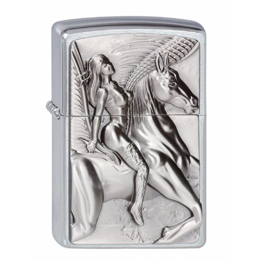 Aansteker Zippo Pegasus Amazone Emblem