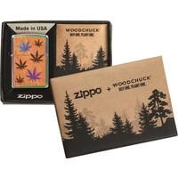 Lighter Zippo Cannabis Woodchuck Emblem