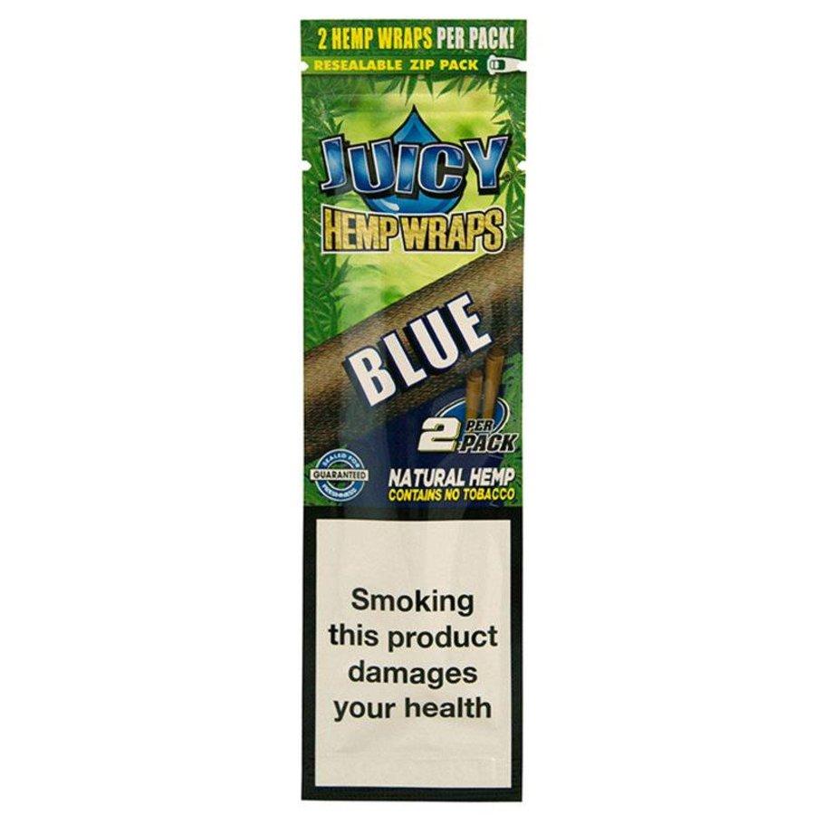 Juicy Jays Hemp Wraps Blue