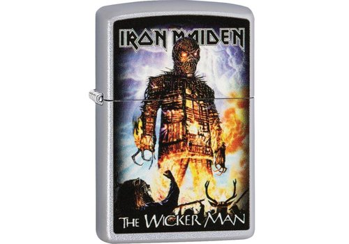Lighter Zippo Iron Maiden The Wicker Man