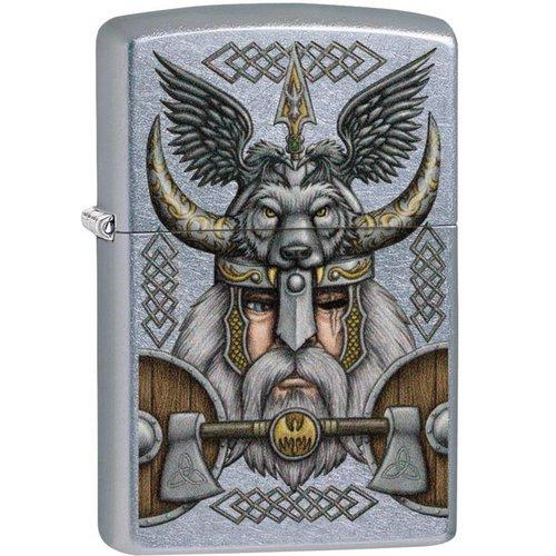 Lighter Zippo Viking Odin