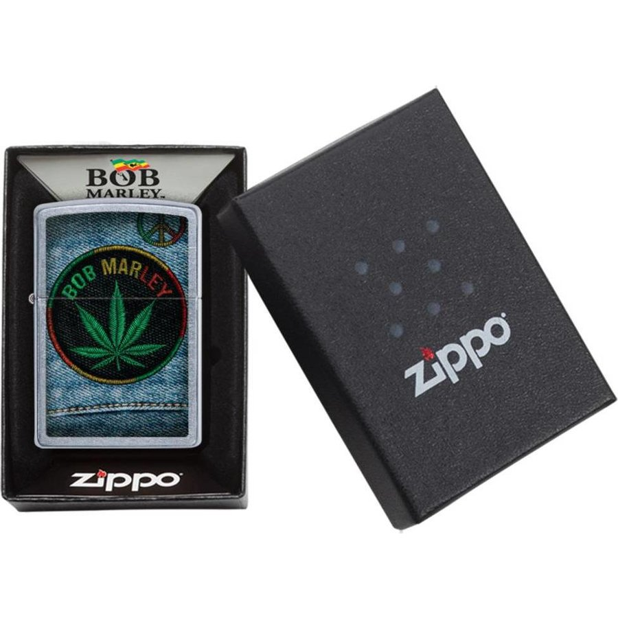 Aansteker Zippo Bob Marley Jeans