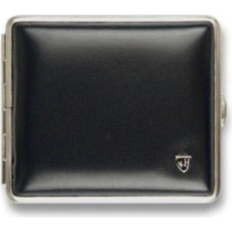 Cigarette Case Leather Black