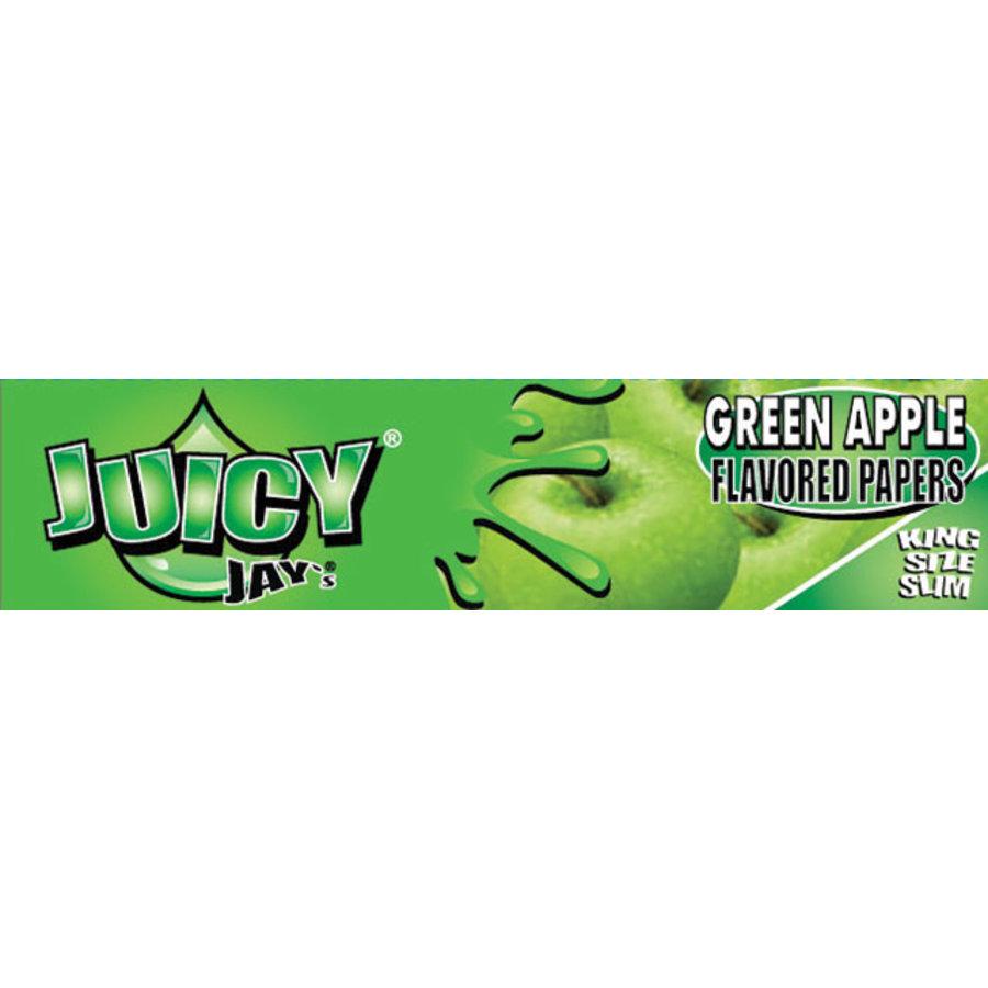 Juicy Jay's Green Apple Kingsize Slim Vloei
