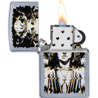 Lighter Zippo Ghost Woman Design