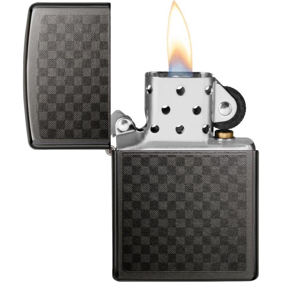 Aansteker Zippo Grey Dusk Chess