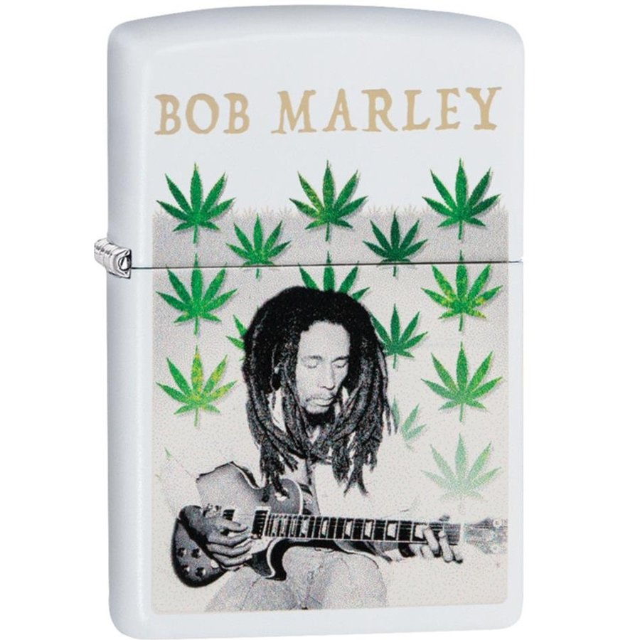 Lighter Zippo Bob Marley Multi Leaves