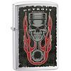 Zippo Lighter Zippo Detroit Piston Skull Flame