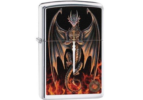 Lighter Zippo Anne Stokes Dragon/Sword
