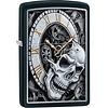 Zippo Aansteker Zippo Skull Clock
