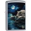 Zippo Lighter Zippo Lisa Parker Wolf Water Moon